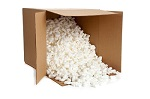 Cairns to Brisbane Removal Packing Peanuts