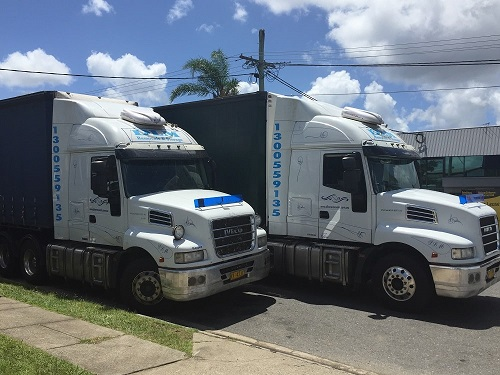 Interstate Transport Truck Furniture Removalist Experts Office Removal